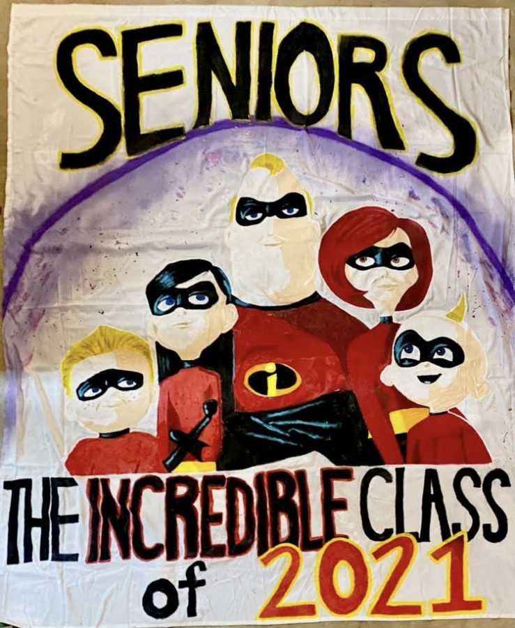 Class of 2021 Homecoming Banner
