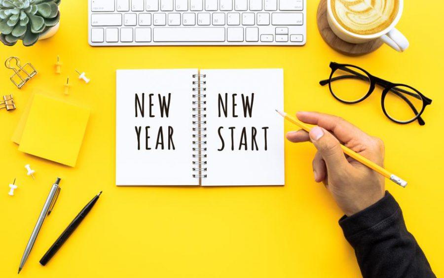 Top ten New Years resolutions