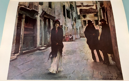 Street in Venice, by John Singer Sargent, 1882, National Gallery of Art, Washington D.C. Gift of the Avalon Foundation