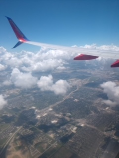 Heads up in the clouds? Flying is cool but terrifying