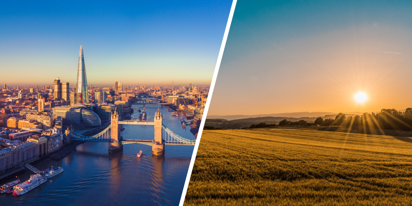 Which is better: living in the country or city?