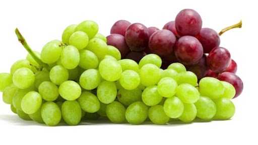 Red grapes or green grapes?