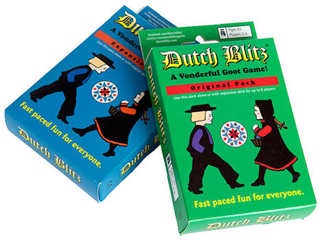 Dutch Blitz a fast-paced, competitive card game