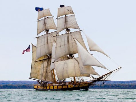 Flagship Niagara docked for the second summer in a row